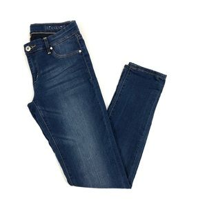 Blank NYC Skinny Jeans Dark Wash Blue Denim